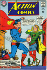 ACTION COMICS #354 © 1967 DC Comics
