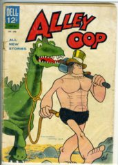 Alley Oop #1 © 1962 Dell