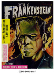 Castle of Frankenstein #01 © 1962 Gothic Castle