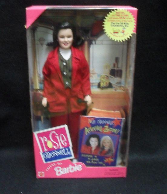 Barbie's Friend Rosie O'Donnell © 1999 Mattel #22016