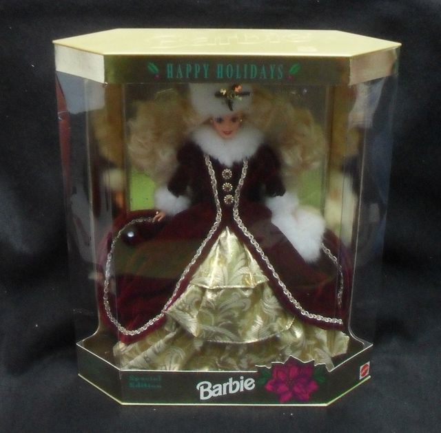 Barbie Happy Holidays 1996 © 1996 Mattel Special Edition 15646
