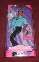 Barbie USA Olympic Skater Ken © 1997 Mattel 18502