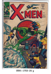 The X-Men #021 (Jun 1966, Marvel)