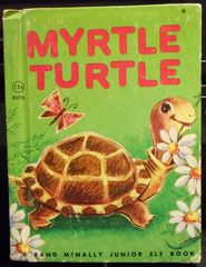 Have one to sell? Sell now Myrtle Turtle © 1961 Little Efl Book 8076