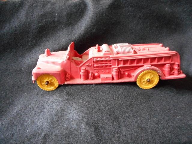 Auburn Fire Department 502 Hose Truck © 1950's