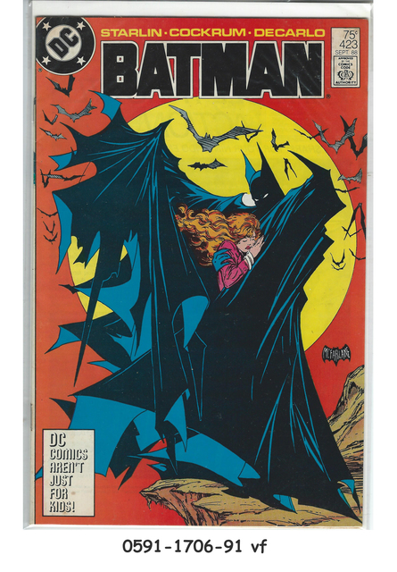 Batman #423 © September 1988 DC Comics