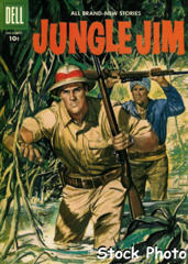 Jungle Jim v2#13 © July-September 1957 Dell