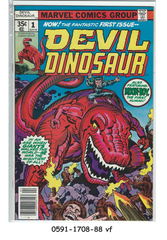 Devil Dinosaur #1 (Apr 1978, Marvel)