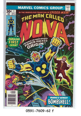 Nova #1 (Sep 1976, Marvel