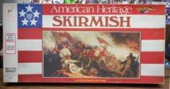Skirmish © 1975 American Heritage Revolutionary War Game Milton Bradley 4505