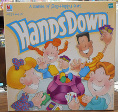 Hands Down, A Slap Happy Game of Fun © 1999 Hasbro