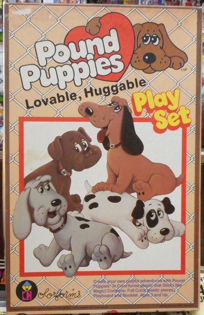 Pound Puppies Colorforms © 1985