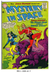 Mystery in Space #095 © November 1964 DC Comics