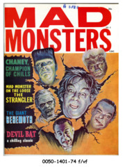 Mad Monsters #8 © Summer 1964 Charlton Publications
