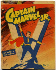 MIGHTY MIDGET COMICS CAPTAIN MARVEL JR.11 © 1942 Lowes