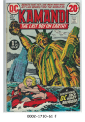 Kamandi, The Last Boy on Earth #1 (Oct-Nov 1972, DC)