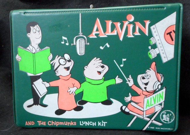 Alvin and the Chipmunks Vinyl Lunch Box © 1963 King Seeley
