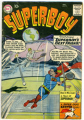 SUPERBOY #077 © December 1959 DC Comics