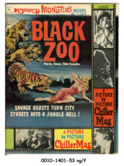 Horror Monsters Presents Black Zoo © Fall 1963 Charlton Publication