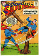 SUPERMAN #134 © January 1960 DC Comics