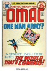 OMAC #1 © September-October 1974 DC Comics