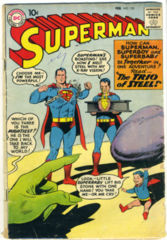 SUPERMAN #135 © February 1960 DC Comics