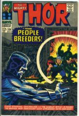 THOR #134 © November 1966 Marvel Comics