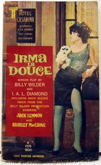 Irma La Douce © 1963 Midwood Tower Wilder/Diamond Photo Cover 1st Print
