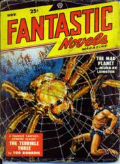 FANTASTIC NOVELS Magazine V2#4 © 1948 New Pulp Novel