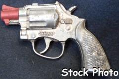 Trooper Cap Pistol © 1938, Hubley