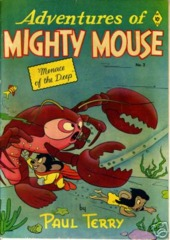 ADVENTURES of MIGHTY MOUSE v1#2 © 1952 St Johns