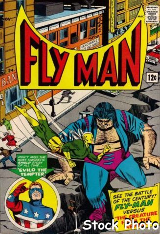 Fly Man #34 © November 1965 Archie Comics