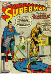SUPERMAN #118 © January 1958 DC Comics