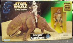 Power Of The Force Dewback and Sandtrooper © 1997 Kenner 69743
