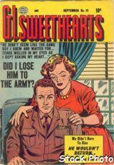 G.I. Sweethearts #41 © September 1954 Quality Comics