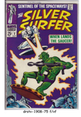 The Silver Surfer #02 © October 1968 Marvel Comics