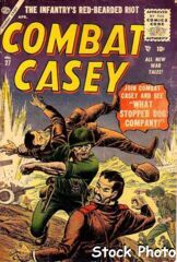 Combat Casey #27 © April 1956