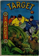 TARGET COMICS V6#9 © January 1946 Novelty Press