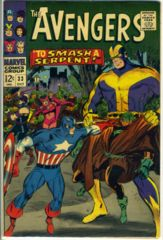 The AVENGERS #033 © October 1966 Marvel Comics
