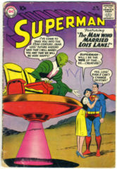 SUPERMAN #136 © April 1960 DC Comics