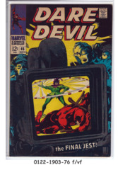 Daredevil #046 © November 1968 Marvel Comics