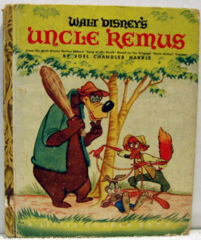Walt Disney's UNCLE REMUS © 1947 D6 Little Golden Book