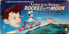 Leave it to Beaver, Rocket to the Moon Space Game © 1959 Hasbro *