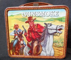 Gunsmoke Lunch Box © 1973 Aladdin