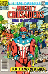The Mighty Crusaders #09 [Newsstand]
