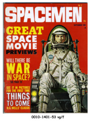 Spacemen #2 © September 1961 Warren/Spacemen