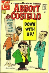 Abbott & Costello #01 © 1968 Charlton