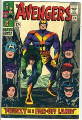 The AVENGERS #030 © July 1966 Marvel Comics