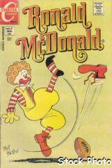 Ronald McDonald #3 © January 1971 Charlton