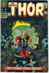 THOR #131 © August 1966 Marvel Comics